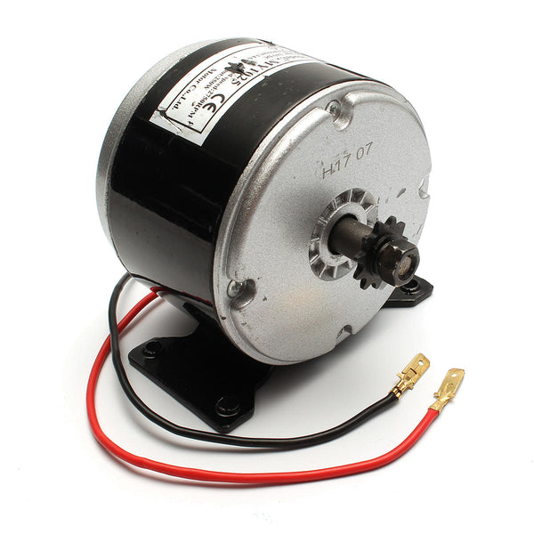 24V 200W 2750 RPM Electric Brushed Bike Scooter Motor Clockwise 2 Wire ZY1016 - Slabiti