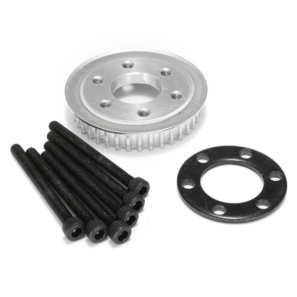 36 Tooth Pulley Kit Parts And Motor Mount DIY For 80MM Wheels - Slabiti