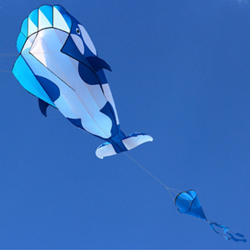 Whale Kite Single Line Stunt Kite Outdoor Sports Toy Children Kids - Slabiti