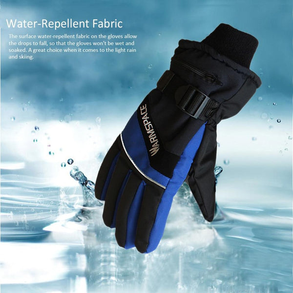 A Pair USB Winter Hand Warmer Electric Gloves Waterproof Heated Gloves For Motorcycle Ski Five Fingers Gloves New - Slabiti