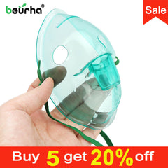Adult Children Mask Filters Atomizer Cup Catheter Inhaler Set FDA Medical Nebulizer Cup Compressor Nebulizer Accessories Spray - Slabiti