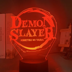 Anime Demon Slayer Face Splice Acrylic Led Night Light for Kids Child Bedroom Decor Cool Nightlight Kimetsu No Yaiba Lamp Gift - Slabiti
