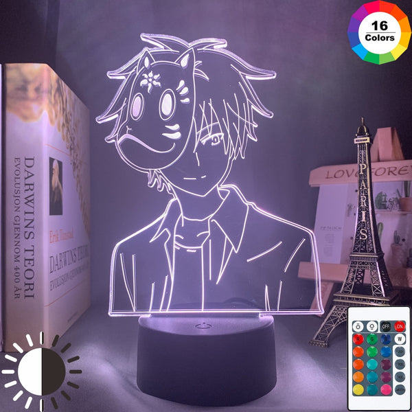 Anime Night Light Hotarubi No Mori E Ginn Figure for Kids Girl Room Decor Movie The Light of The Fireflies Forest Kinn Gift Lamp - Slabiti