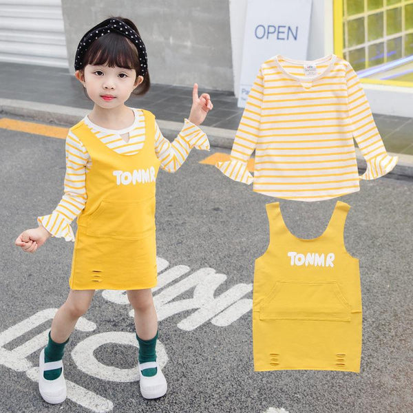 Autumn Baby Girls Boys Clothing Sets Infant Striped Prints Sport Suits Zipper Coat+Pants 2Pcs tracksuits Outfits Sets - Slabiti