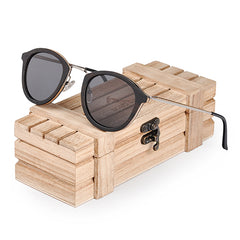 BOBO BIRD Sunglasses Women Polarized Wood Sun Glasses in Wooden Gift Box W-AG028 Drop Shipping - Slabiti