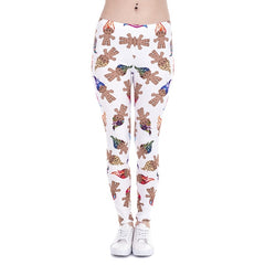 Brand New Fashion Women Leggings Unicorn And Sweets Printing leggins Fitness legging Sexy High waist Woman pants - Slabiti