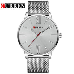 CURREN Classic Design Business Men's Wristwatch Fashion Casual Quartz Male Clock Stainless Steel Band Watches relogio masculino - Slabiti