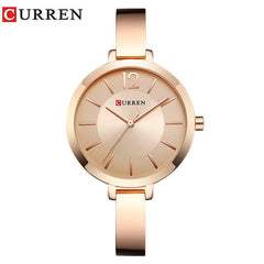 CURREN Ladies Wrist Watch Brand Fashion Casual Female Clock Popular Bracelet Quartz Watch Montre Femme Relogio Feminino - Slabiti
