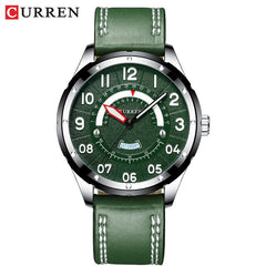 CURREN Mens Watches Top Luxury Brand Men Leather Watches Casual Quartz Wristwatch for Men  Relogio Masculino Clock Male Business - Slabiti