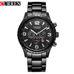 CURREN Top Brand Men's Sport Watch Military Quartz Male Clock Display Date Waterproof Wristwatch Relogio Masculino Reloj Hombre - Slabiti