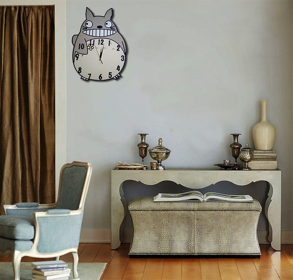 Chinchilla wall clock personalized painting cartoon decorative creative clock decorative Children Room - Slabiti