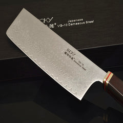 Chinese Kitchen Knife Japanese VG10 Damascus Chef Knife Cleaver Cutting Meat Chopping Filleting Slicing Cooking Tools Knives 47 - Slabiti