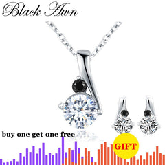 Cute 925 Sterling Silver Women's Necklace Pendants Female Bijoux Silver 925 Jewelry KN030 - Slabiti