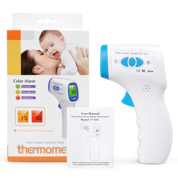 ELERA Multifunction Digital Non Contact Digital Infrared Thermometer Baby Adult Forehead Body Temperature Monitor CE Approved - Slabiti