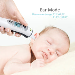ELERA New Thermometer Digital Infrared IR LCD Baby Forehead and Ear Non-Contact Adult Body Care Fever Measurement Termometro - Slabiti
