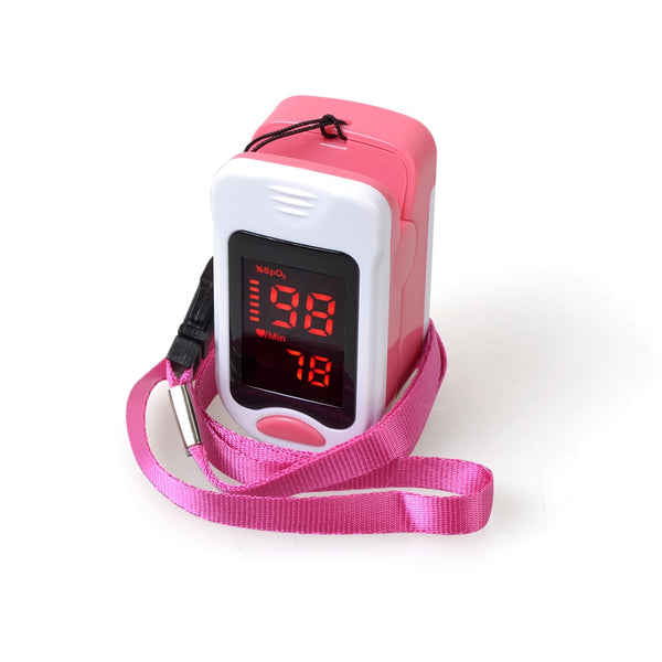 ELERA Portable finger Pulse Oximeter SPO2 PR Pulse Oximeter a Finger LED Pulsioximetro Oximetro de Dedo Digital with Pouch - Slabiti
