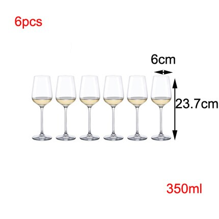 European Superior quality Lead-free Crystal champagne glass wine goblet Decanter Household suit  Wedding Gift Set Bar Drinkware