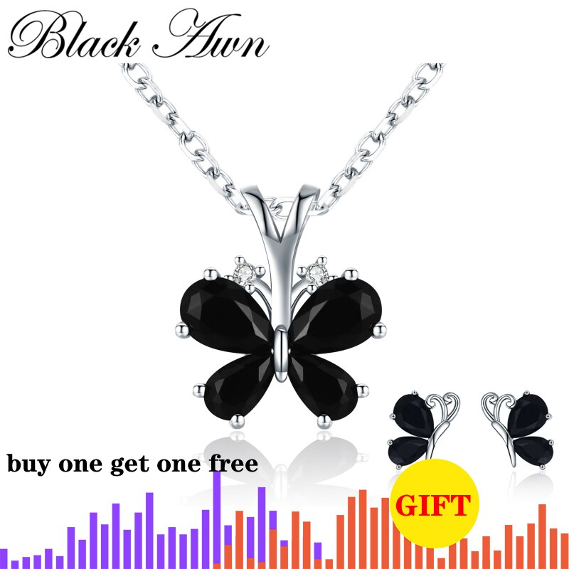 Fashion 925 Sterling Silver Jewelry Life Butterfly Women's Necklace Female Bijoux Necklaces Pendants Girl Gift KN016 - Slabiti