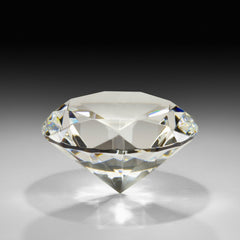 High Quality 60mm 2.36inch Clear Crystal Diamond Paperweights Glass Gem Party Favors - Slabiti