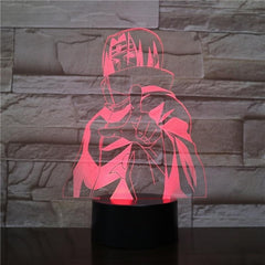 Hokage Naruto Figure Usb 3d led night light Gaara Touch Sensor decorative lights Boys Child Kids Gift Kakashi table lamp bedside - Slabiti