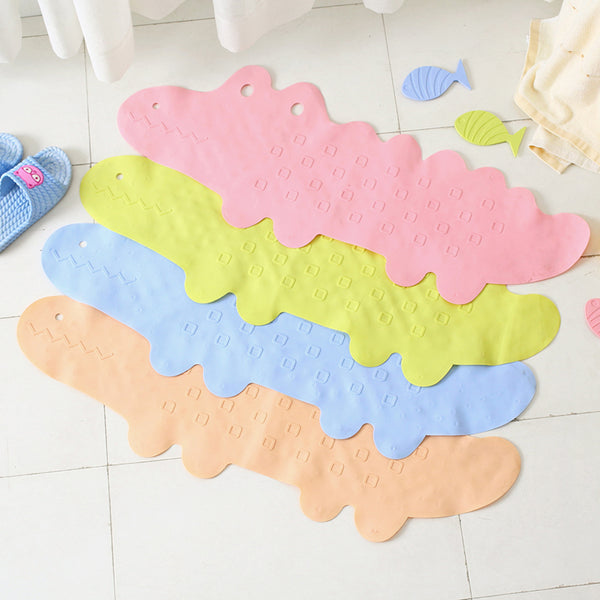 Home Hotel Safety TPR Shower Bathroom Floor Mat Bath Tub Treads Non Slip Applique Sticker Bathroom Toilet Kitchen Sucker Type - Slabiti