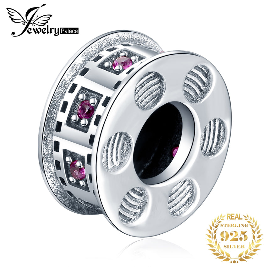 JewelryPalace Disc 925 Sterling Silver Beads Charms Silver 925 Original Fit Bracelet Silver 925 original Bead For Jewelry Making - Slabiti