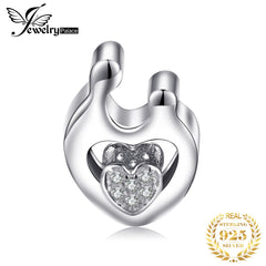 JewelryPalace Family 925 Sterling Silver Beads Charms Silver 925 Original For Bracelet Silver 925 original Beads Jewelry Making - Slabiti