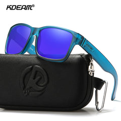 KDEAM Polarized Sport Sunglasses for Men Women UV Protection Square Sun Glasses for Baseball Driving Running Fishing Golf - Slabiti
