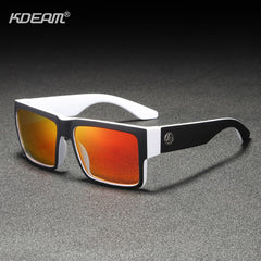 KDEAM Recommend 2019 Polarized Sunglasses For Men/Women Outdoor Shades Ultra-thick Elastic Paint Frame 5-Barrel Hinges - Slabiti
