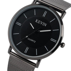 KEVIN Bling Watches for Women Fashion Minimalist Mesh Band Strap Stylish Casual Elegant Girl Ladies Wristwatches Quartz Clock - Slabiti