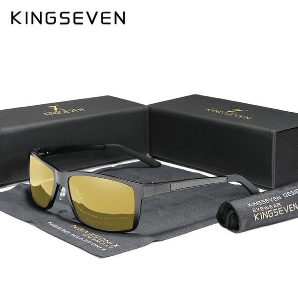 KINGSEVEN 2020 Men's Sunglasses Aluminum Magnesium Polarized Driving Mirror Eyewear For Men/Women UV400 Oculos - Slabiti