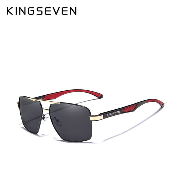 KINGSEVEN Brand 2020 DESIGN Men' Glasses Polarized Sunglasses Coating Mirror Glasses Oculos Male Eyewear Accessories For Men - Slabiti