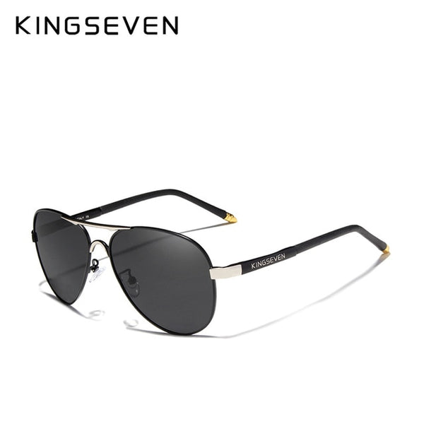 KINGSEVEN Brand 2020 Men's Glasses Driving Polarized Sunglasses Men And Women Aluminum Fashion Eyewear Gafas De Sol Shades - Slabiti