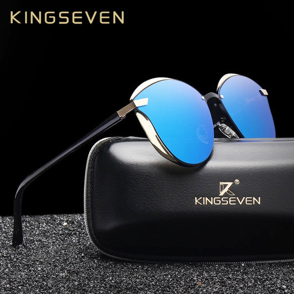 KINGSEVEN Cat Eye Sunglasses Women Polarized Fashion Ladies Sun Glasses Female Vintage Shades Oculos de sol Feminino UV400 - Slabiti