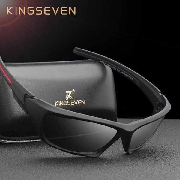 KINGSEVEN Fashion Polarized Sunglasses Men Luxury Brand Designer Vintage Driving Sun Glasses Male Goggles Shadow UV400 - Slabiti