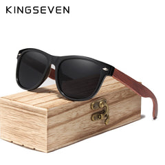 KINGSEVEN Gray Lens Sunglasses Polarized Square 2019 Luxury Brand Design Vintage Sun Glasses For Women Oculos de sol masculino - Slabiti