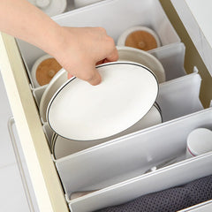 Kitchen Tableware Storage Box Cabinet Storage Box Plastic Spice Rack Pot Finishing Box Bathroom Supplies Finishing Rack - Slabiti