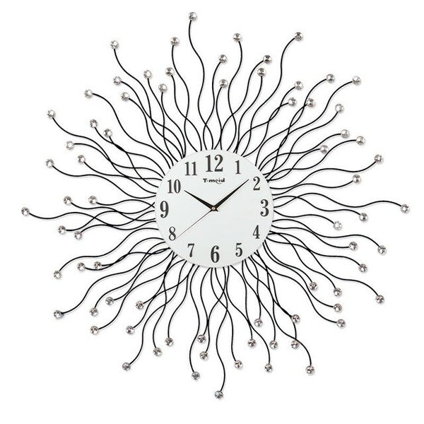 Large Wall Clock 3d Digital Hanging Clock Wall Watch Big Home Decorative  Wall Clocks Home Wall Decor Digital Silent Clock - Slabiti