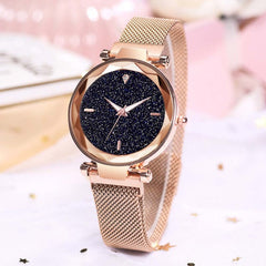 Luxury Women Watches Magnetic Starry Sky Female Clock Quartz Wristwatch Fashion Ladies Wrist Watch reloj mujer relogio feminino - Slabiti