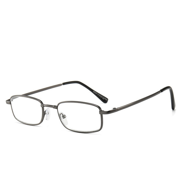 MOLNIYA Anti-blue Light Reading Glasses Women&Men Classic Square Frame Presbyopia Glasses With+1.0to+4.0 - Slabiti