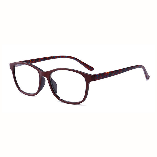 MOLNIYA Men Square Reading Glasses Presbyopia Women Reading Eyeglasses Female Male Presbyopic Glasses +1 1.5 2.0 2.5 3.0 3.5 4.0 - Slabiti