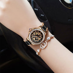 Montre Femme SUNKTA New Rose Gold Watch Women Quartz Watches Ladies Top Brand Luxury Female Wrist Watch Girl Clock Wife gift+Box - Slabiti