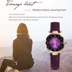 OGEDA Women's Watches Fashion Ladies Watches for Women Bracelet Relogio Feminino Clock Gift Montre Femme Luxury Bayan Kol Saati - Slabiti