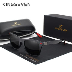 Original KINGSEVEN Brand Classic Polarized Sunglasses Men Women Driving Square Frame Sun Glasses Male Goggle UV400 Gafas De Sol - Slabiti