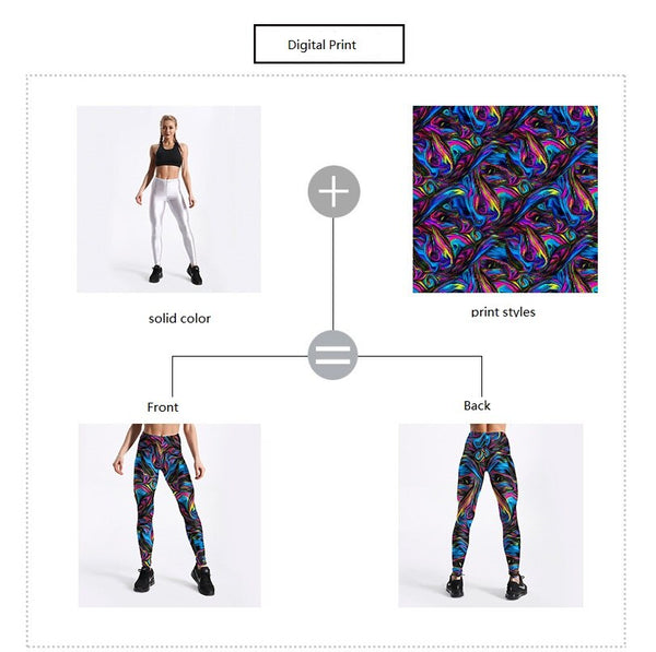 Qickitout Merry Christmas Customer Digital Printed leggings  USA Size XS-XL  jk28-002 - Slabiti