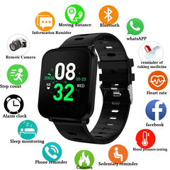 RGTOPONE 2019 Men Smart Watch IP68 Waterproof High-end Gift Bluetooth Sport Heart Rate Monitor Calls Reminder for Android iOS - Slabiti