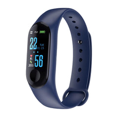 RGTOPONE Smart Watch Waterproof Heart Rate Wristband Blood Pressure Monitor Bluetooth Bracelet For xiaomi M3 band Android IOS - Slabiti