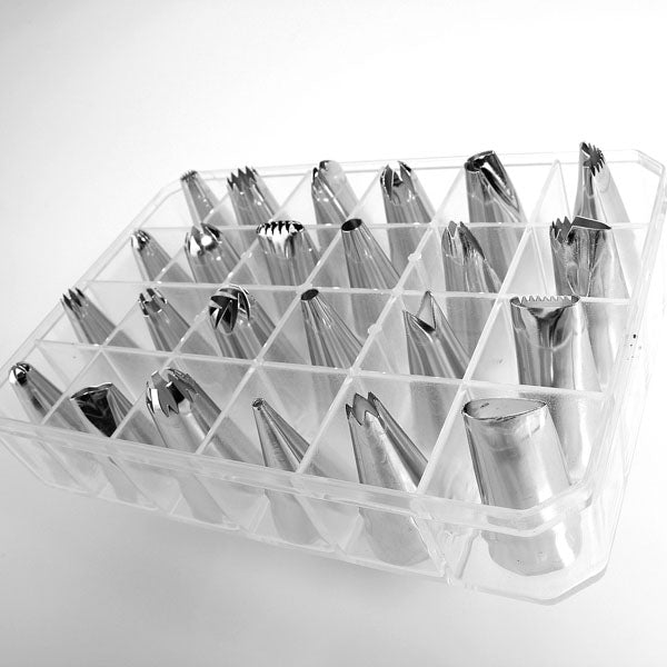 24pcs Icing Piping Nozzle Tips Set Cake Decorating Set Baking Cake Decorating Tool