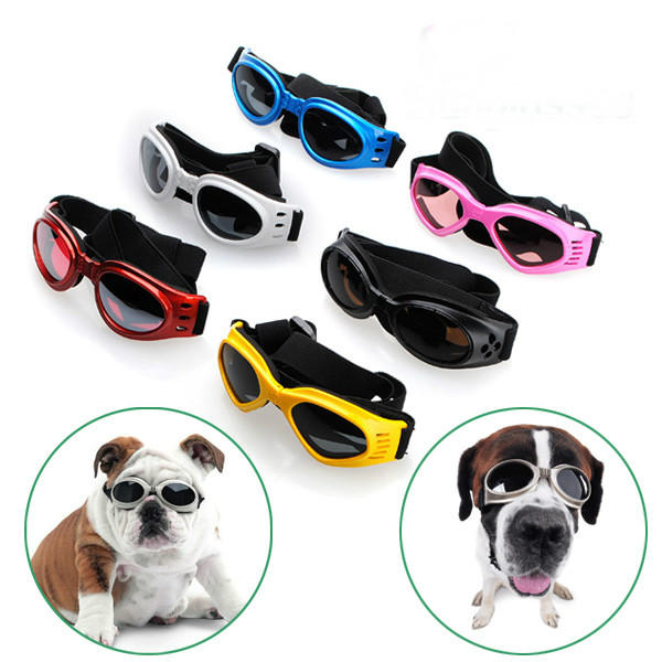 Pet Dogs UV Sun Glasse Eye Wear Protection Sunglasses - Slabiti