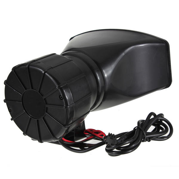 12V Loud Horn Siren 5 Sounds Tone PA System 60W for Car Auto Van Truck - Slabiti